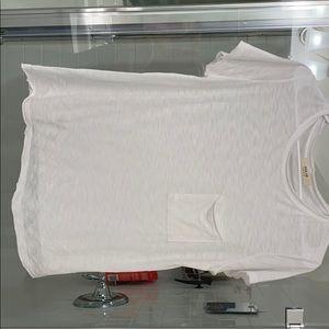 Jolie and Z Supply Basic Black White T Shirt Small